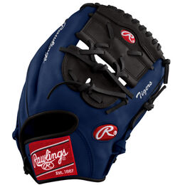 Navy/White Custom Glove