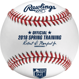 MLB 2018 Spring Training Arizona Baseballs