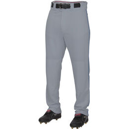 Youth Semi-Relaxed Piped Baseball Pant