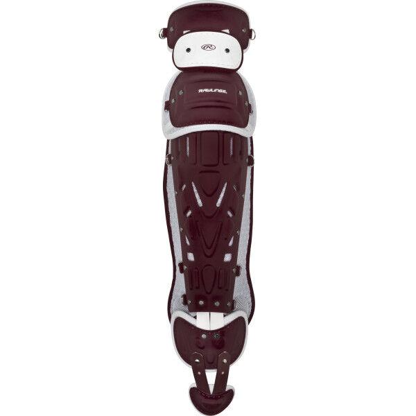 Pro Preferred Adult Leg Guards Maroon