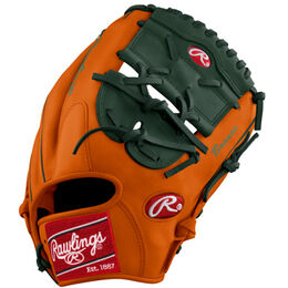 Green/Orange Custom Glove