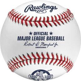 MLB 2015 Alex Rodriguez 3000 Career Hits Baseball