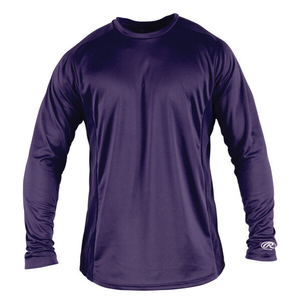 Adult Long Sleeve Shirt Purple