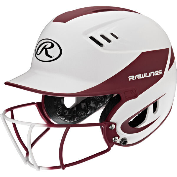 Velo Senior Batting Helmet Maroon