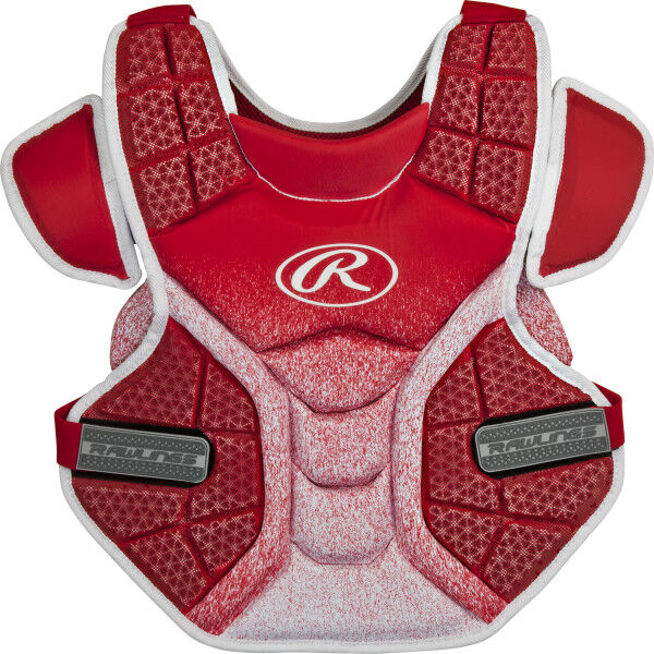 Velo Adult Softball Chest Protector Scarlet