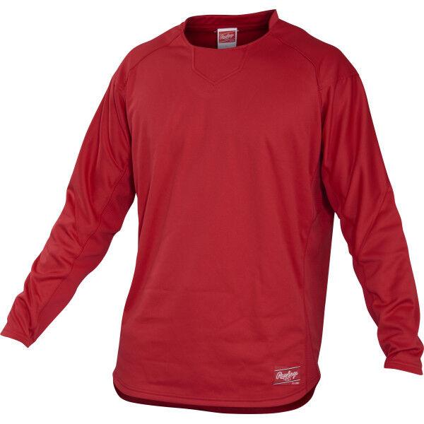 Youth Long Sleeve Shirt Scarlet