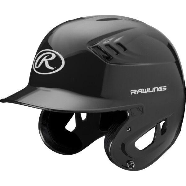 Coolflo High School/College Batting Helmet Black