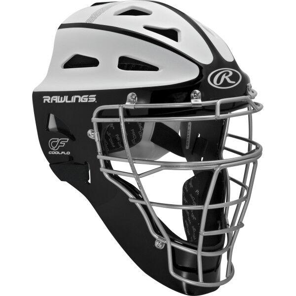 Velo Youth Softball Catchers Helmet Black
