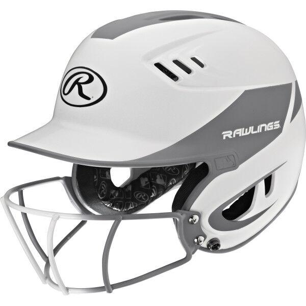 Velo Junior Batting Helmet Silver