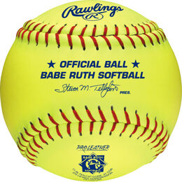 "Babe Ruth Official 11"" Softballs"