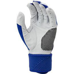 Adult Compression Strap Workhorse Batting Glove Royal