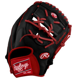 Scarlet/White Custom Glove
