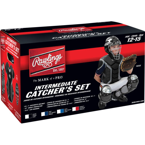 Renegade Intermediate Catchers Set Black