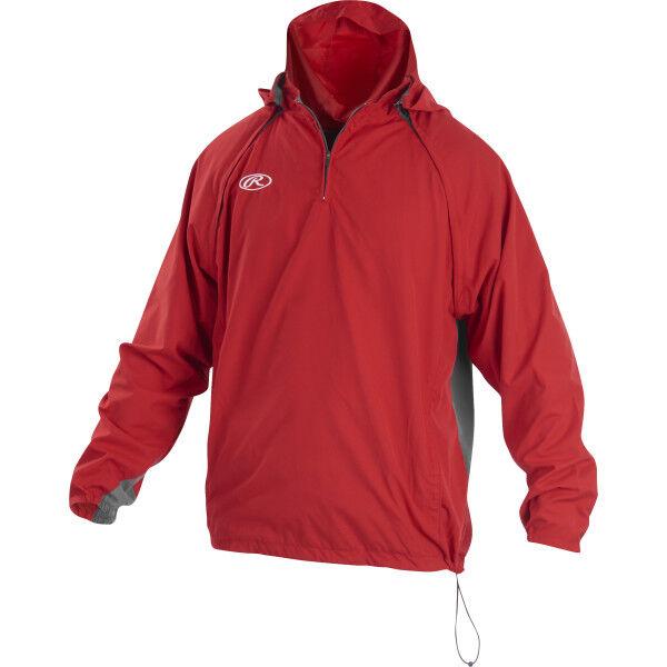 Youth Long/Short Sleeve Jacket Scarlet