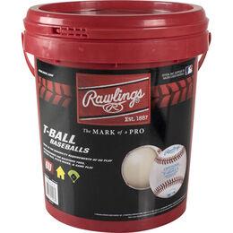 Bucket of 12 Little League T-Balls