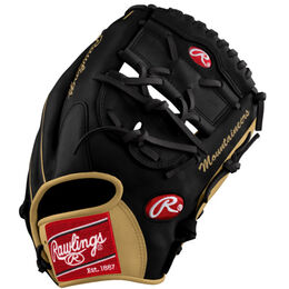 Black/Gold Custom Glove