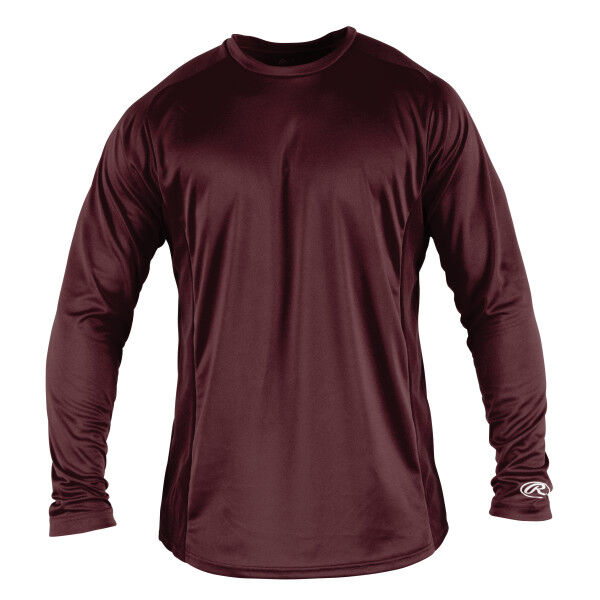 Adult Long Sleeve Shirt Maroon