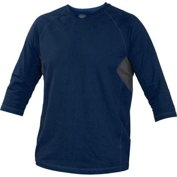 Adult 3/4 Length Sleeve Shirt Navy