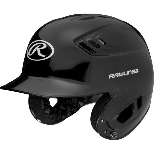 Velo Senior Batting Helmet Black