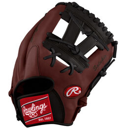 White/Maroon Custom Glove