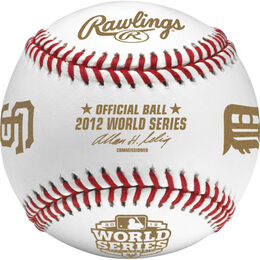 MLB 2012 World Series Dueling Baseball