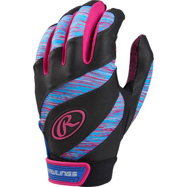 Eclipse Girl's Softball Batting Gloves Pink
