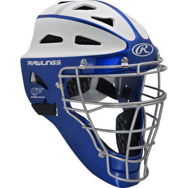 Velo Youth Softball Catchers Helmet Royal