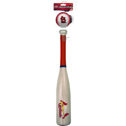 MLB St Louis Cardinals Bat and Ball Set