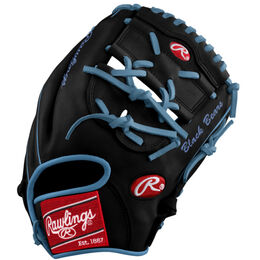 White/Blue Custom Glove