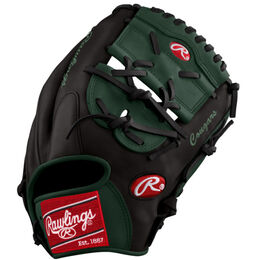 Green/Black Custom Glove
