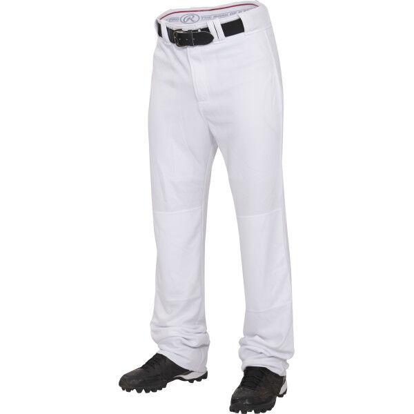 Youth Premium Straight Pant White