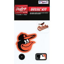 MLB Baltimore Orioles Decal Kit
