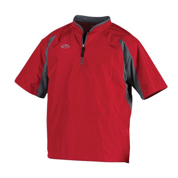 Youth Short Sleeve Jacket Scarlet