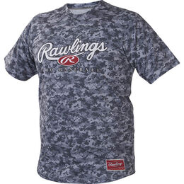 Adult Short Sleeve Branded Camo Shirt