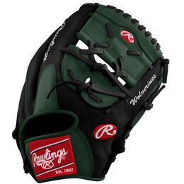 Gray/Red/Black Custom Glove