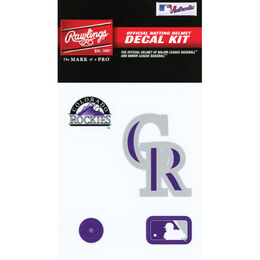 MLB Colorado Rockies Decal Kit