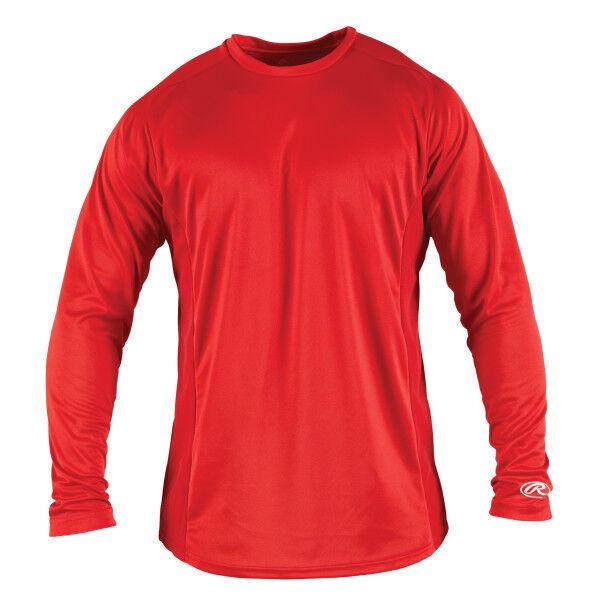 Adult Long Sleeve Shirt Scarlet