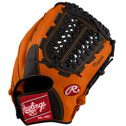Orange/Black Custom Glove