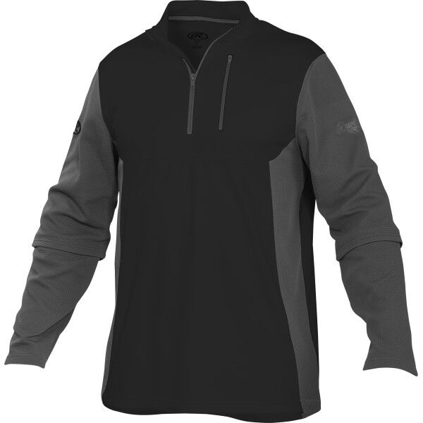 Adult Long Sleeve Shirt Black/Gray