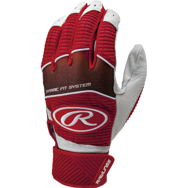 Youth Workhorse Batting Glove Scarlet