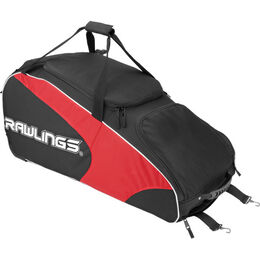 Workhorse Wheeled Bag Scarlet