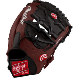 White/Cranberry Custom Glove