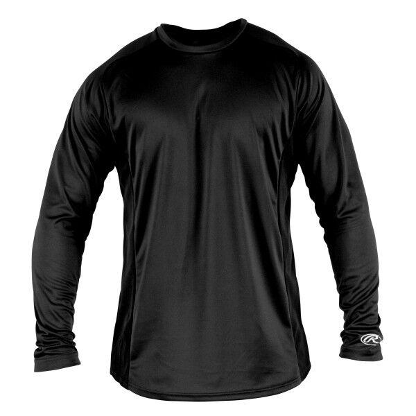 Adult Long Sleeve Shirt Black