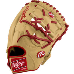 Yellow/Red Custom Glove