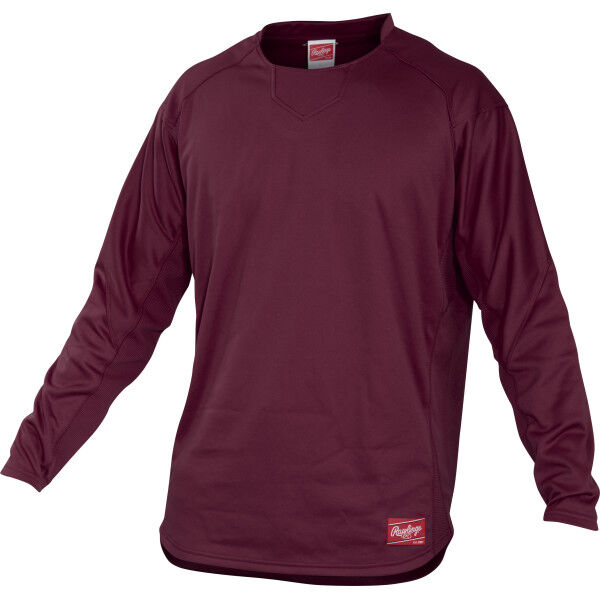 Youth Long Sleeve Shirt Maroon