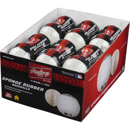 24 Pack Youth Indoor/Outdoor Play Training Baseballs