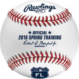 MLB 2016 Spring Training Florida Baseballs