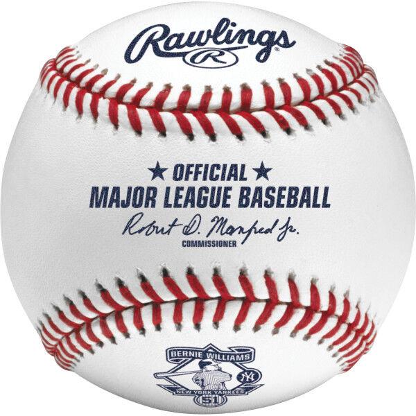 MLB 2015 Bernie Williams Retirement Baseball