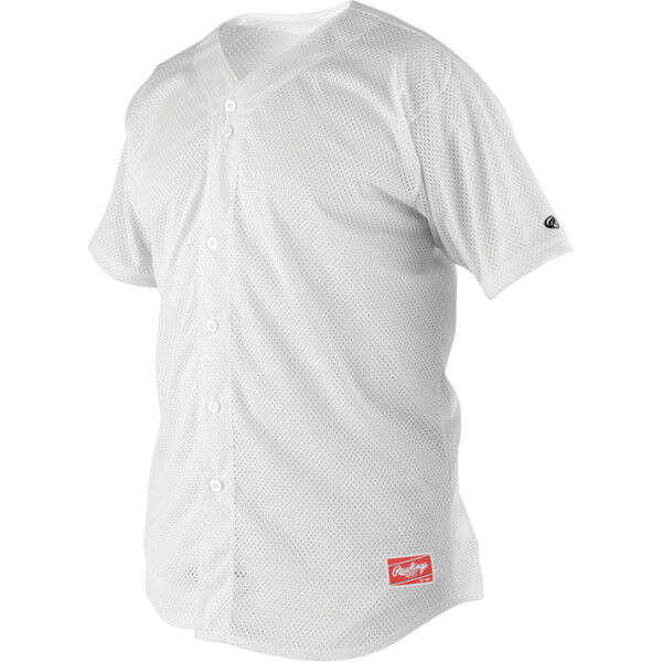 Youth Short Sleeve Jersey White