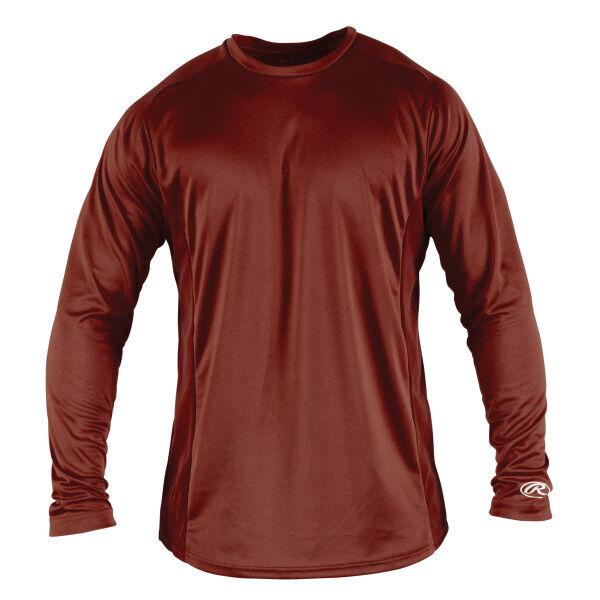Adult Long Sleeve Shirt Cardinal